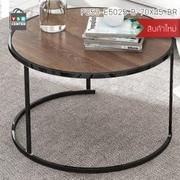 CASSA โต๊ะ โต๊ะกลม สีไม้เข้ม