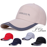 [I.Dear] ผู้ชายและผู้หญิงกลางแจ้งกีฬาลำลองระบายอากาศแห้งเร็วหมวกเบสบอลหมวกสูงสุด (5 สี)
