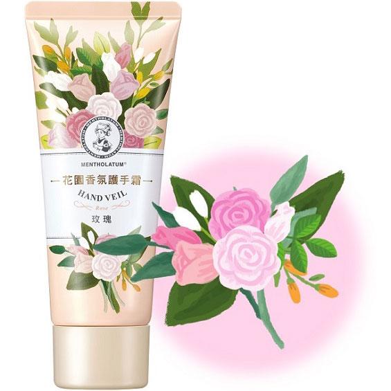 (曼秀雷敦)Mentholatum Garden Fragrance Hand Cream Rose 50g