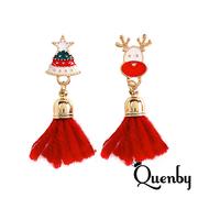 Quenby คริสต์มาสกวางเรนเดีย / เบลล์ / ไวน์แดงพู่หู