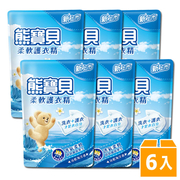 หมีสีฟ้าอ่อนมหาสมุทรฉินฮนุ่มชุดป้องกันที่ดี Booster 1.84L (6 แพ็คเก็ต / กล่อง)