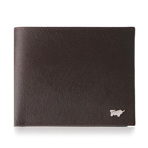 (braun buffel)BRAUN BUFFEL Tiberius-II Series 8 Card Wallet-Brown BF348-313-ENY