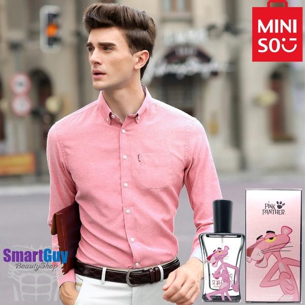 Miniso Pink Panther Fruity Combustion Eau De Toilette 50ml. น้ำหอมผู้ชายกลิ่นไฮโซหรูหราบางเบาเย็นสบายผสานความเซ็กซี่นุ่มละมุนน่าค้นหาในแบบหนุ่มออฟฟิศ