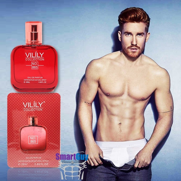 VILILY Collection No.865 Eau De Parfum 25ml. น้ำหอมผู้ชายกลิ่นไฮโซหรูหราสปอร์ตแมนผสานความเซ็กซี่แข็งแรงน่าค้นหาชวนเข้ามาสัมผัสใกล้ๆ