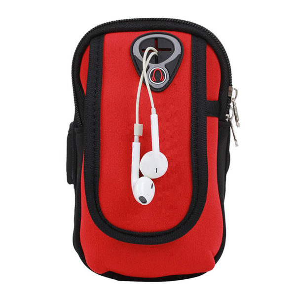 Multi-functional sports fashion arm package 5.5 inches below the general mobile phone models - black