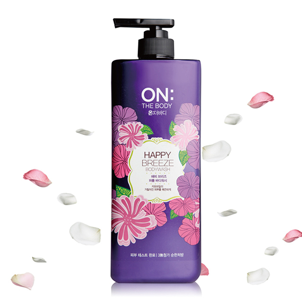 (ON THE BODY)ON THE BODY Happy Breeze Perfume Shower Gel 900g