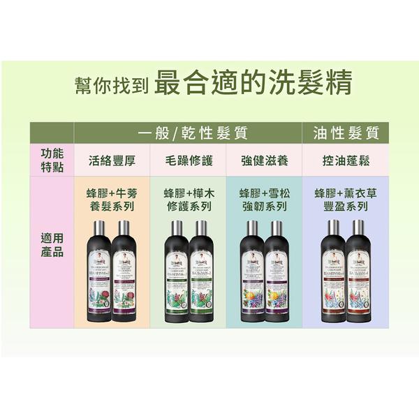 Agafia Eka Fei + birch propolis Shampoo Treatment (550ml)