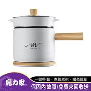 [Magic House] M17 หม้อหุงข้าวไฟฟ้าขนาดเล็กอัจฉริยะไม่ติด - สีขาวลายไม้