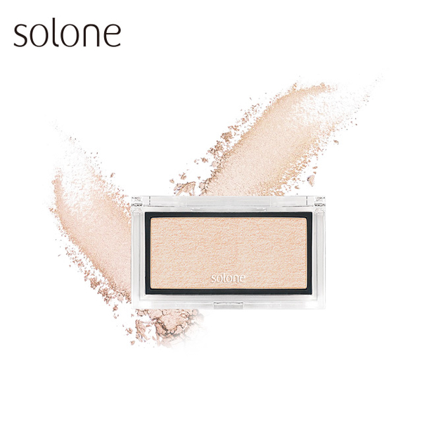 (solone)Solone Goddess Light Brightening Cake 2.5g #04玫瑰金