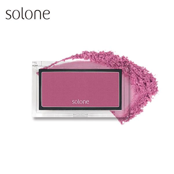 (solone)Solone Apple Muscle Redness Blush 2.5g #07 Raspberry Purpleberry