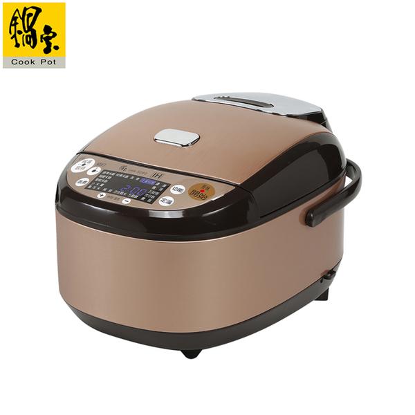 (鍋寶)[pot treasure] IH intelligent constant temperature electronic pot-8 people rose gold IHR-9080