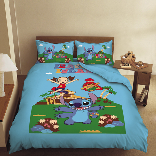 [Disney] -Disney Stitch Game article - twin pack two groups 3.5x6.2 foot (105x186 cm)
