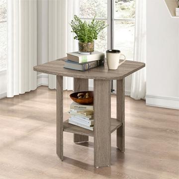 [TC home] โต๊ะกาแฟโต๊ะข้างโอ๊คสีอ่อน