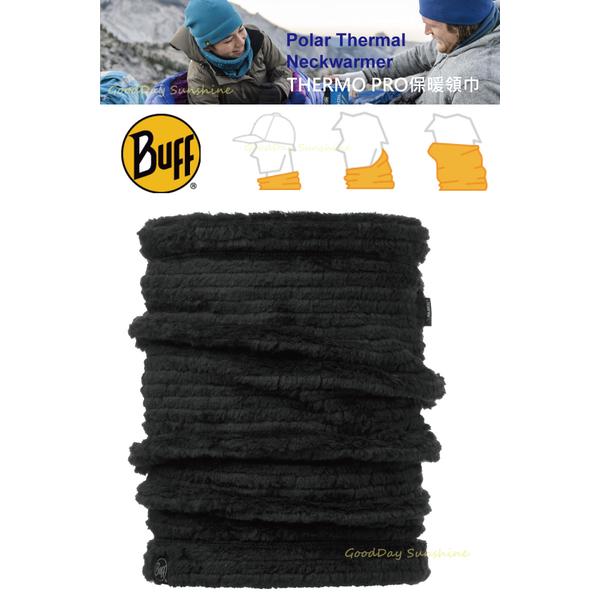 (BUFF)[BUFF] BF115390 black THERMO PRO extreme warm scarf