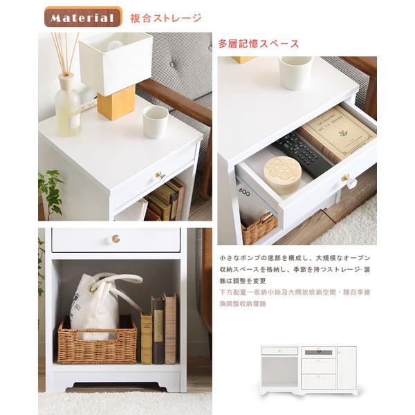 [Sato] Anri ชีวิตง่ายสูบน้ำตู้ด้านเดียวเปิด‧ความกว้าง 40 ซม (สีขาว)