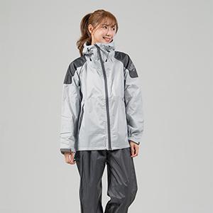 (OutPerform)OutPerform- Matussek super splash in half style trench coat - gray