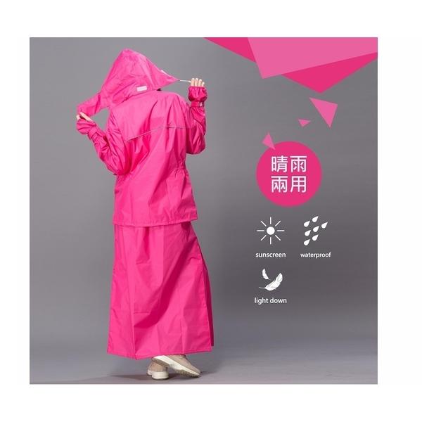 (DongShen)[Dong Shen DongShen] skirt shake women's suit raincoat - pink