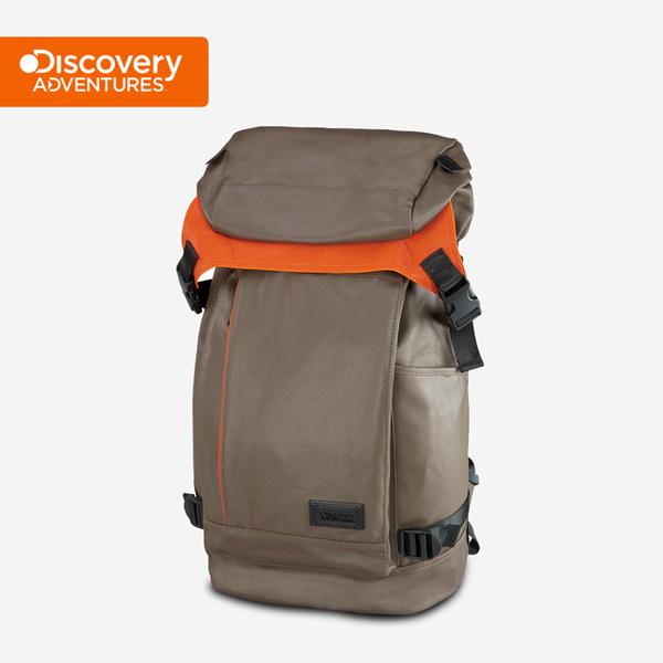 (Discovery Adventures)[Discovery Adventures] City Top Cover Backpack - Khaki (DA-B16201-WG)