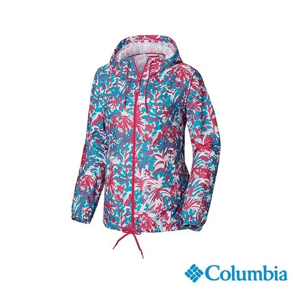 โคลัมเบียโคลัมเบียรุ่นหญิง - กันน้ำเสื้อ - UKR30130FR พิมพ์สีชมพู