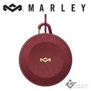 Marley ไม่มีขอบเขตไร้สายบลูทูธ ลำโพงกันน้ำ - สีแดง