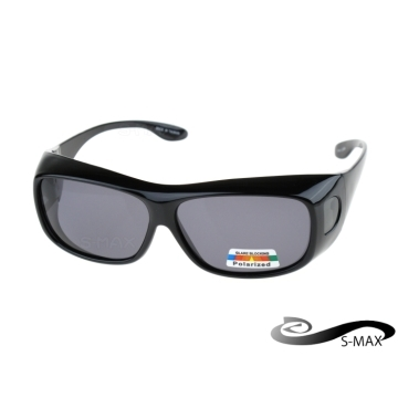 May be coated glasses in the [S-MAX Agent Brand] UV400 coating polarized sunglasses Polarized lens level with the top PC