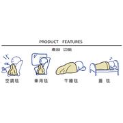 [EUPHORIA] เลือกหลุมผ้าห่ม 95X125 ซม. - สีเหลือง
