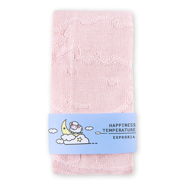 [EUPHORIA] เลือกหลุมผ้าห่ม 80X90 ซม. - ชมพู