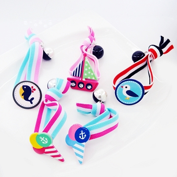 (charme)Charme cute children's ocean wind value hair accessories group of five into