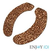 """""""ENJOY101"""" ที่นั่งห้องน้ำ - การเดินทางแบบพกพา - เสือดาว"""