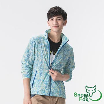 """[SnowFox Xuehu] """"ค่าสีสูง"""" เสื้อบาง ๆ พิมพ์ครีมกันแดด M (anti-UV50 / น้ำหนักเบา / ง่ายต่อการรวมอำพราง AC-81605)"""