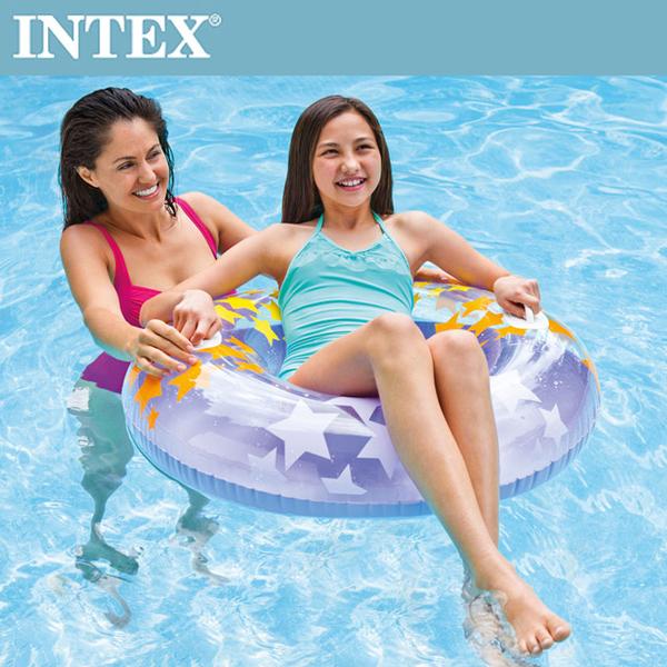 (INTEX)INTEX Shining Star Swim Ring - Random Color Shipping (91cm) (59256)