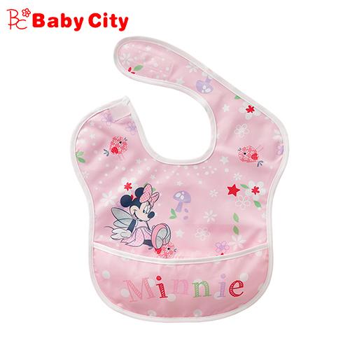 (babycity)Doll City BabyCity-Disney Series Waterproof Storage Bib - Minnie