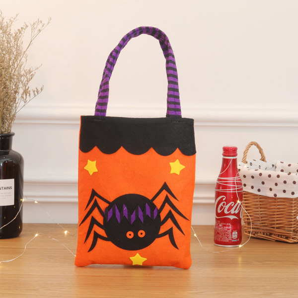[Dressing] Fun Halloween Candy non-woven bags _ spider