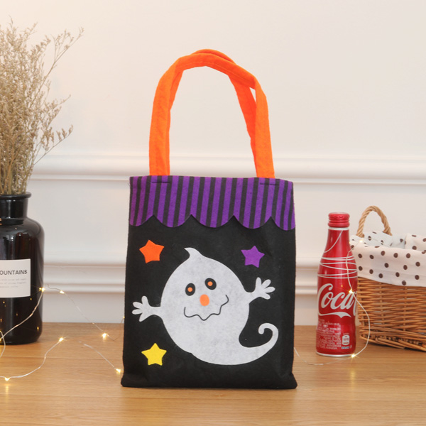 [Dressing] Fun Halloween Candy non-woven bags _ Ghost