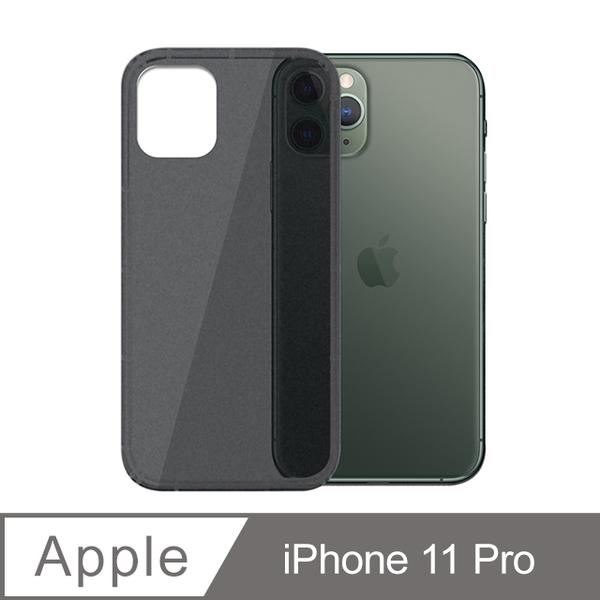 iPhone 11 Pro Scrub Anti-Shock Anti-vibration Air Cushion Air Pressure Phone Case Scrub Black
