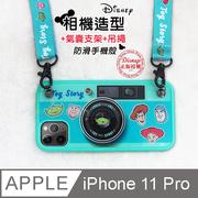 ดิสนีย์รุ่นกล้อง iPhone 11 Pro 5.8 นิ้วเคส + เชือกเส้นเล็ก + ถุงลมนิรภัยที่ใส่กล่องของขวัญ Set (Toy Story)