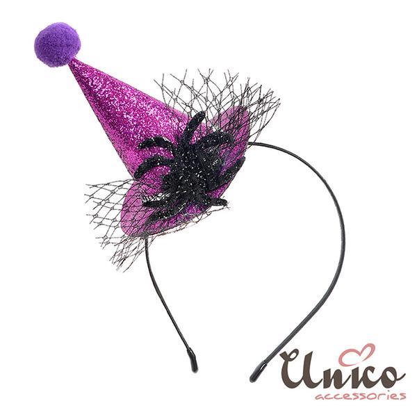(unico)UNICO New Halloween Dress Up Party Headband - Spider Shape