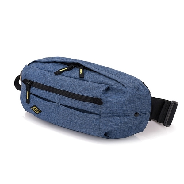 (FREEKNIGHT)FREEKNIGHT FK0816BU Fashion pockets. Chest bag. Side backpack blue