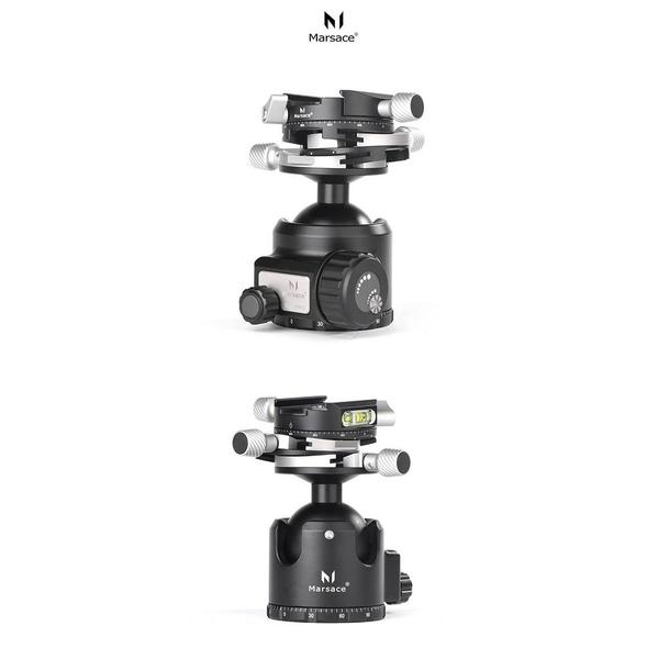 Marsace XB-2PRO triple gear spherical panoramic head (company stock)