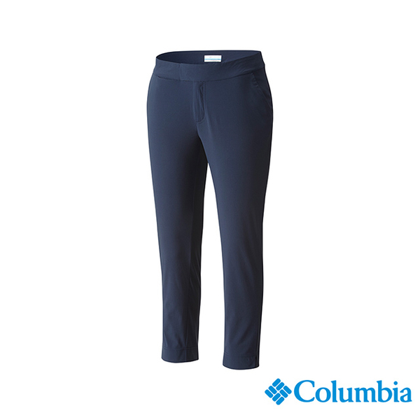 โคลัมเบียโคลัมเบียรุ่นหญิง -UPF50 รั่วไหลกางเกงขายาว - สีน้ำเงินเข้ม UFK00040NY