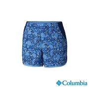 โคลัมเบียโคลัมเบีย -UPF50 รุ่นหญิงยืดหยุ่นกางเกงขาสั้นอย่างรวดเร็วท่อระบายน้ำ - UAR26010BL สีฟ้า