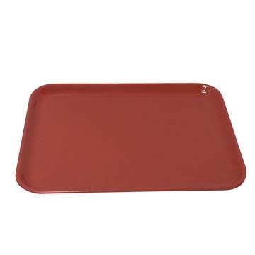 6016 melamine tray - red