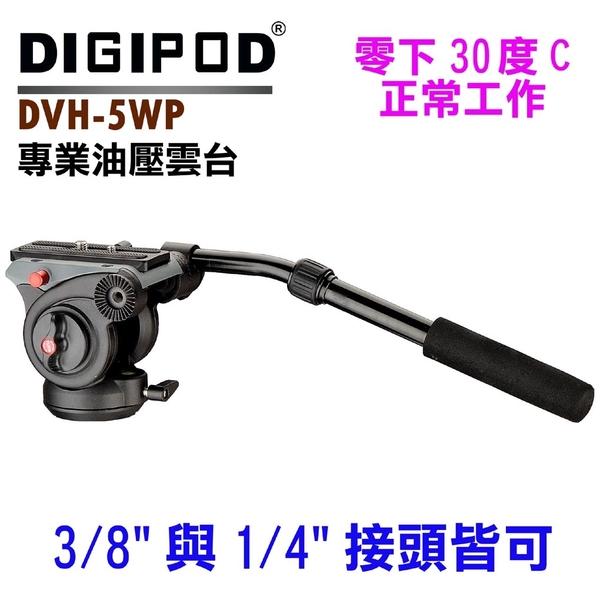 DIGIPOD DVH-5WP interfaces hydraulic head screw