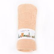 EUPHORIA] [ผ้าห่มความสะดวกสบายนุ่ม (ฉบับง่าย) สีพีช -95X125 ซม.