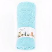 EUPHORIA] [ผ้าห่มความสะดวกสบายนุ่ม (ฉบับง่าย) -95X125 ซม. สีฟ้าฤดูร้อน
