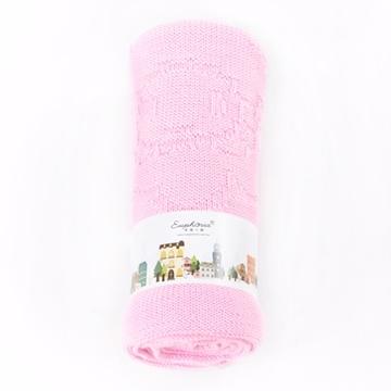 EUPHORIA] [ความสะดวกสบายผ้าห่มนุ่ม (ฉบับง่าย) -80X90 ซม. สีชมพูและสีม่วง