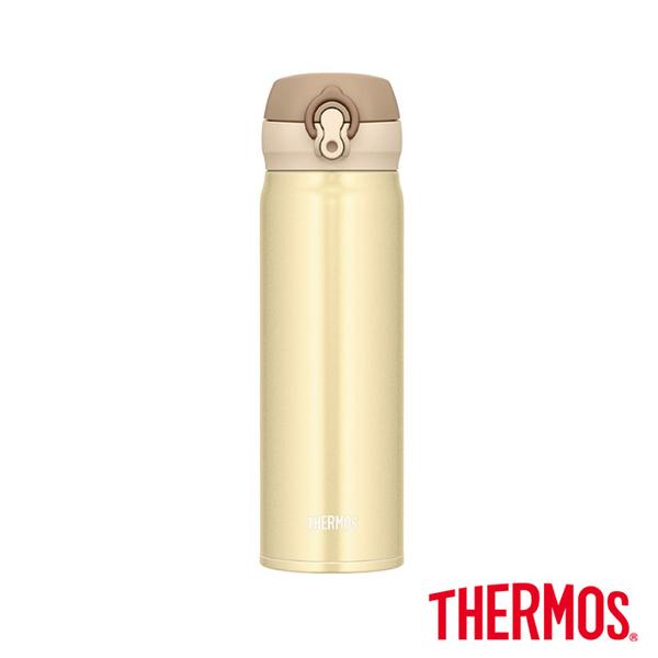 [] ทอง THERMOS กระติกน้ำร้อนเบา 0.5L สแตนเลสกระติกน้ำร้อนสูญญากาศครีม (JNL-503-CRG)
