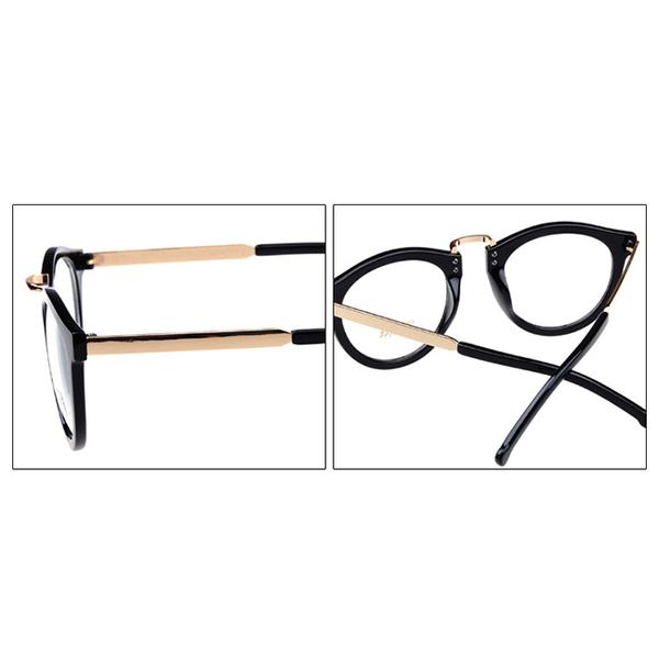 (Seoul Show)Seoul Show Korean fashion series flat glasses 3123 light black