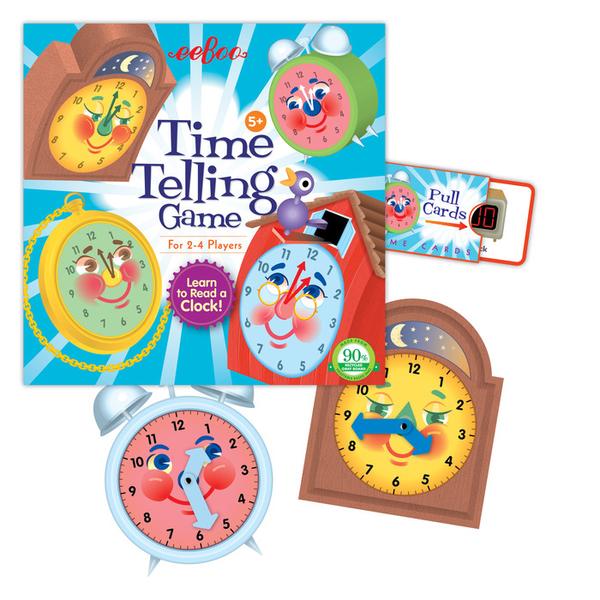 (eeBoo)EeBoo board games - Time Telling Game (time game)