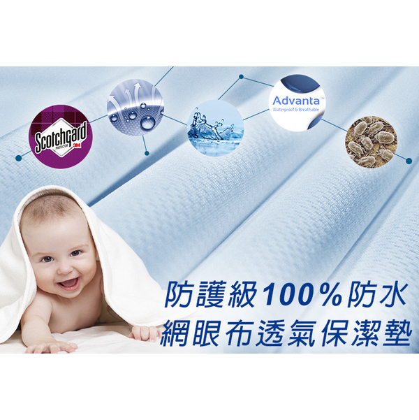 [J-bedtime] 3M X waterproof breathable wicking mesh fabric beds inclusive cleaning pad (all purple fashion)